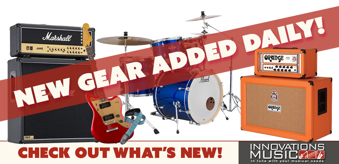 Check Out What's New at Innovations Music!