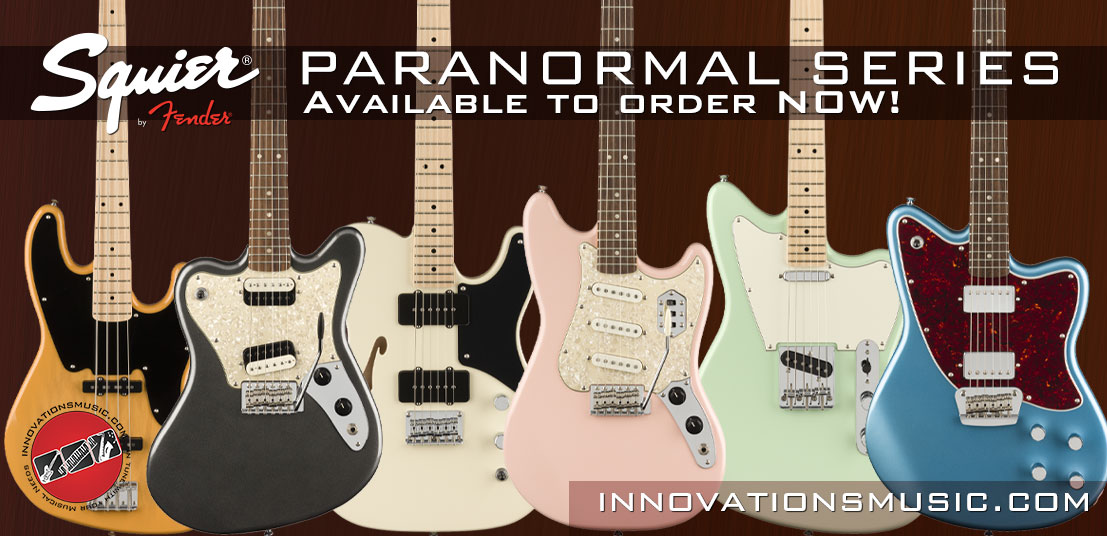 Squier Paranormal Series - Let's Get Weird