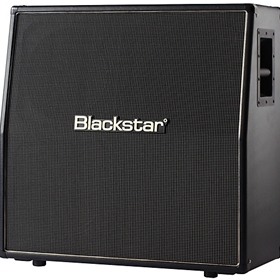 "4X12"" ANGLED CELESTION LOADED METAL GRILL CABINET"