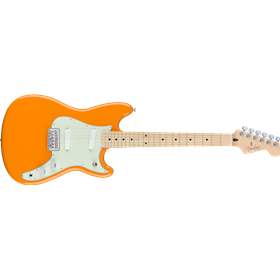 Duo-Sonic, Maple Fingerboard, Capri Orange