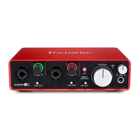Focusrite Scarlett 2i2 MK2 Interface