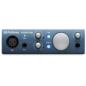 PreSonus AudioBox iOne USB/iPad 1x1 USB Recording Interface