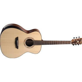 Washburn Comfort | Natural Gloss Grand Auditorium | Solid Sitka Spruce Top