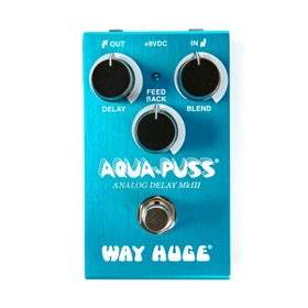 Way Huge Electronics Mini Aqua-Puss Analog Delay Effects Pedal