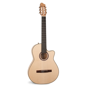 La Patrie Arena Flame Maple CW Crescent II Classical Guitar