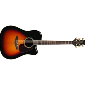 Takamine GD71CE-BSB | Dreadnought Cutaway Acoustic-Electric Guitar, Sunburst