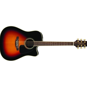 Takamine GD51CE-BSB | Dreadnought Cutaway Acoustic-Electric Guitar, Sunburst