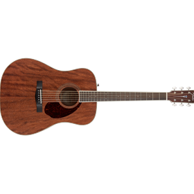 PM-1 Dreadnought All Mahogany with Case, Natural