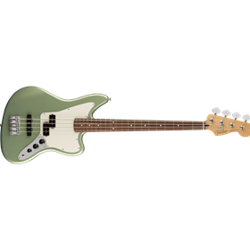 Player Jaguar Bass, Pau Ferro Fingerboard, Sage Green Metallic
