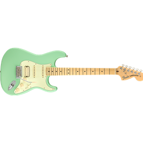 American Performer Stratocaster® HSS, Maple Fingerboard, Satin Surf Green