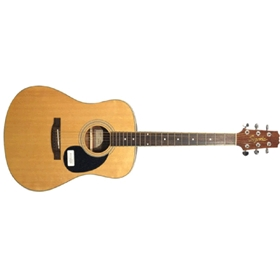 Segovia D07GN Acoustic Guitar, Dreadnought Body with solid top
