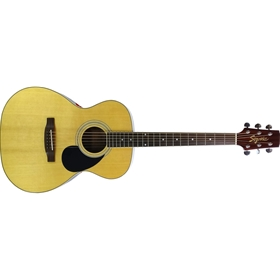 Segovia Folk Gloss Natural Acoustic Guitar