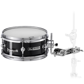 Pearl Short Fuse Snare w/ Mounting Bracket, Black