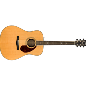 PM-1 Deluxe Dreadnought with Case, Natural