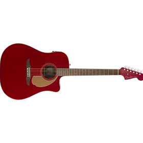 Redondo Player, Walnut Fingerboard, Candy Apple Red