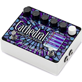 EHX Cathedral Deluxe Stereo Reverb