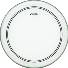 Remo 22-Inch Encore Powerstroke 3 Clear Bass Drum Batter Drum Head