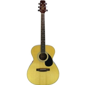 Segovia Folk Natural Acoustic Guitar w/ Electronics