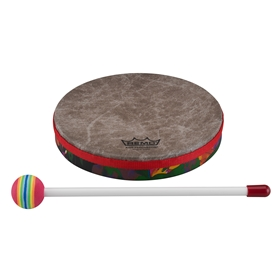 Remo Kid's Percussion Hand Drum - 8 Inch - Rain Forest