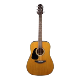 Takamine Acoustic Guitar, Left-handed Dreadnought, Natural