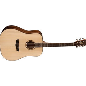 Washburn Woodline Series Dreadnought | Solid Sitka Spruce Top