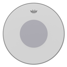 Remo Powerstroke P3 Coated Black Dot Drumhead - Bottom Black Dot™, 22""