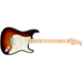 American Pro Stratocaster, Maple Fingerboard, 3-Color Sunburst