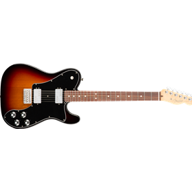 American Pro Telecaster Deluxe ShawBucker, Rosewood Fingerboard, 3-Color Sunburst