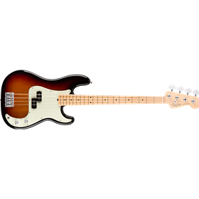 American Pro Precision Bass, Maple Fingerboard, 3-Color Sunburst