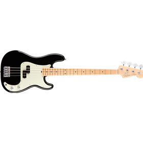 American Pro Precision Bass, Maple Fingerboard, Black