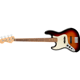 Player Jazz Bass Left-Handed, Pau Ferro Fingerboard, 3-Color Sunburst