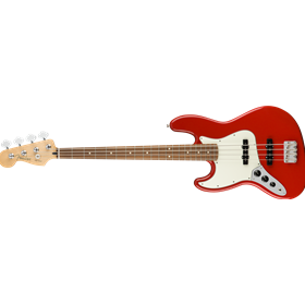 Player Jazz Bass Left-Handed, Pau Ferro Fingerboard, Sonic Red
