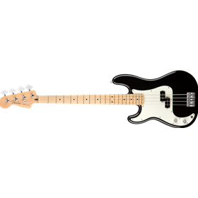 Player Precision Bass Left-Handed, Maple Fingerboard, Black