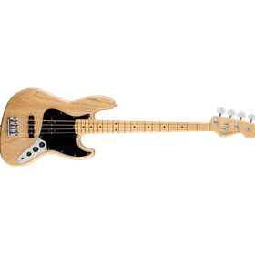 American Pro Jazz Bass, Ash, Maple Fingerboard, Natural