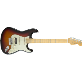 American Elite Stratocaster HSS ShawBucker, Maple Fingerboard, 3-Color Sunburst