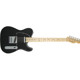 American Elite Telecaster, Maple Fingerboard, Mystic Black