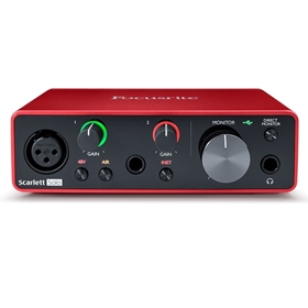 Focusrite Scarlett Solo Interface, Gen 3