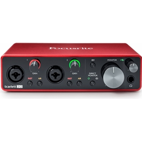 Focusrite Scarlett 2i2 Interface, 3rd Gen