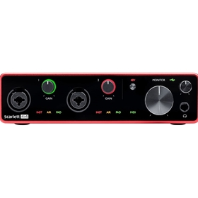 Scarlett 4i4 Interface 3rd Generation