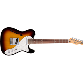 Deluxe Telecaster Thinline, Rosewood Fingerboard, 3-Color Sunburst