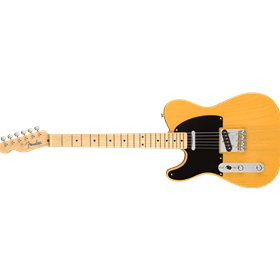 American Original '50s Telecaster Left-Hand, Maple Fingerboard, Butterscotch Blonde