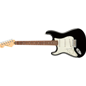 Player Stratocaster Left-Handed, Pau Ferro Fingerboard, Black