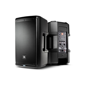 "10"" two-way stage monitor or front of house powered speaker system"