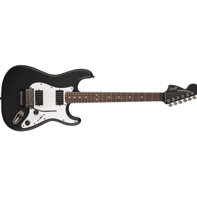 Contemporary Active Stratocaster HH, Rosewood Fingerboard, Flat Black