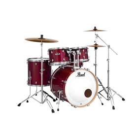 Pearl Export Lacquer-Natural Cherry, 2218B-1007T-1208T-1414F-1455S 5 pc shell pack