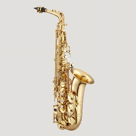 Antigua AS4240LQ Powerbell Alto Saxophone | Clear Lacquer Finish
