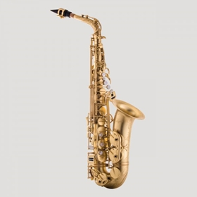 Antigua Model 25 Alto Saxophone | Unlacquered Brass Body