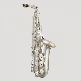 Antigua AS4240CN Powerbell Alto Saxophone | Classic Nickel Body & Keys