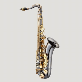 Antigua TS4240BC Powerbell Tenor Saxophone | Black Nickel Body & Gold Keys