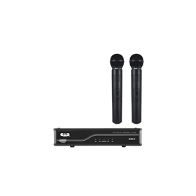 UHF Wireless Dual Cardioid HH System K Frequency